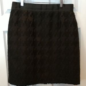 Ann Taylor black dress skirt.size 12
